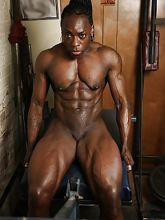 Muscle Black Women Ebony BBW Pics