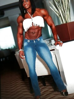 Muscle Black Women Busty Ebony Sex