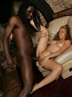 Candy - Ebony Secretary - Atk Exotic