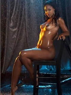 Black Models Ebony Clit