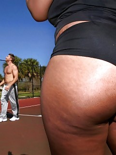 Check Out This Lovely Bright Hot Booty Big Ass Basketball Bitch Nailed Hard In This Sandy Beach Side Pretty Amat