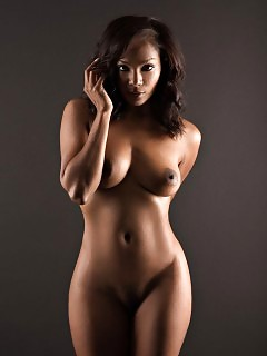 Black Models Thick Black And Stacked