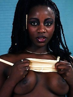 Sexy Pretty African Goddess Black Creamypies
