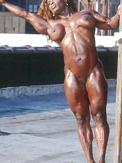 Muscle Black Women Hot Ebony